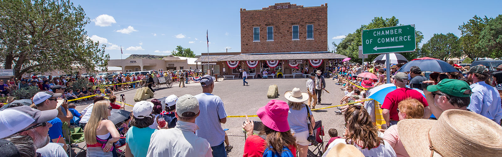 The Fourth of July shootout in Fort Davis.