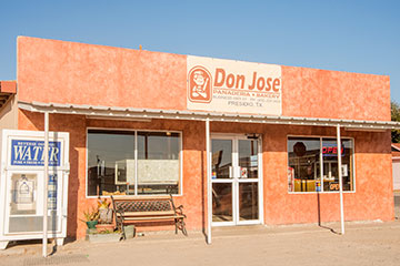 Outside of Don Jose Bakery.
