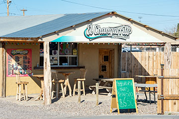 The front of El Changarrito.